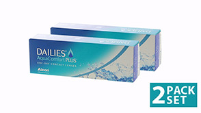 Dailies Aqua Comfort Plus Special Package 2 Box