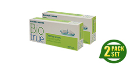 Bausch + Lomb Biotrue 1 Day Special Package 2 Box