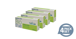Bausch + Lomb Biotrue 1 Day Special Package 4 Box