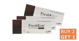 Buy 2 Get 1 Free: 1 Day Freshkon Alluring Eyes