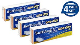 Softvue II Ultra Comfort 1 Day Special Package 4 Box