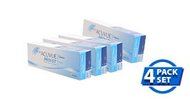1 Day Acuvue Moist Special Package 4 Box